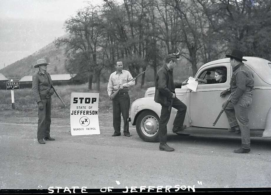 The effort to form the state of Jefferson dates back to 1941, when residents of northern counties conceived the idea. Photo: The Chronicle