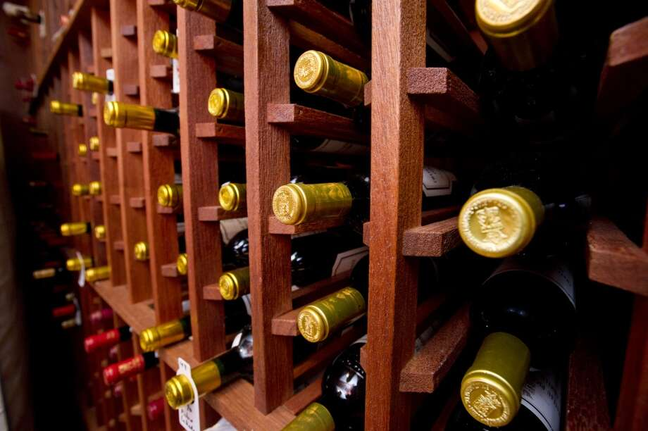 The wine cellar in the home at 218 Clapboard Ridge in Greenwich. Conn., on Tuesday, Sept. 3, 2013. The home is up for sale with an asking price of $25 million. Photo: Lindsay Perry