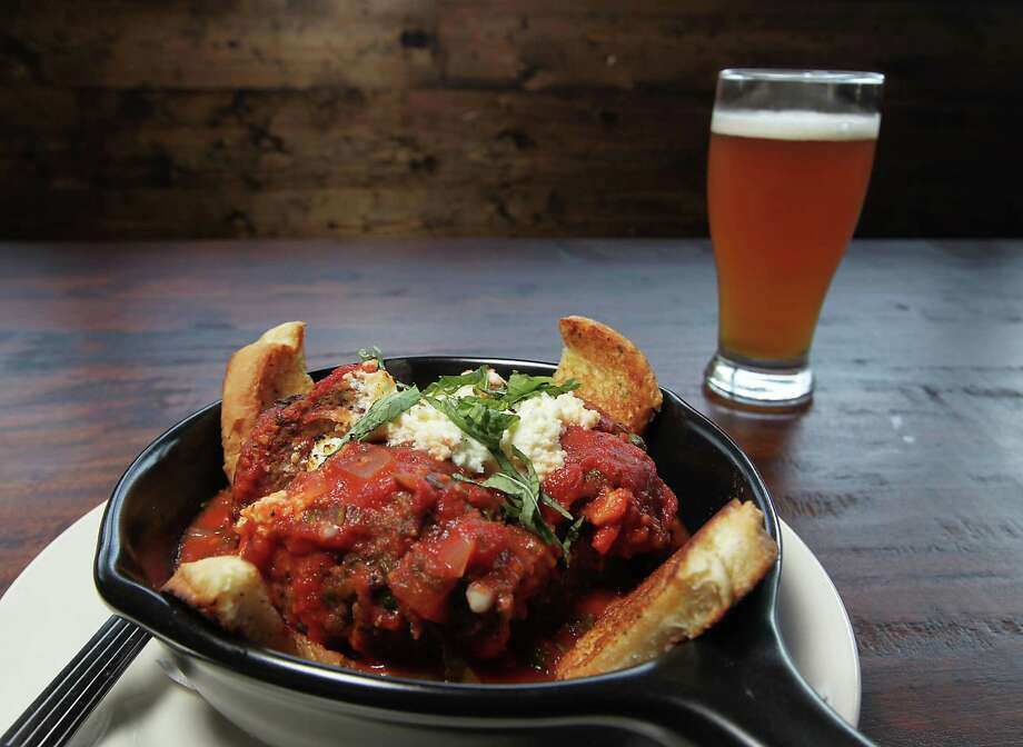 The City Oven Italian Meatball  Photo: James Nielsen, Staff / © 2013  Houston Chronicle