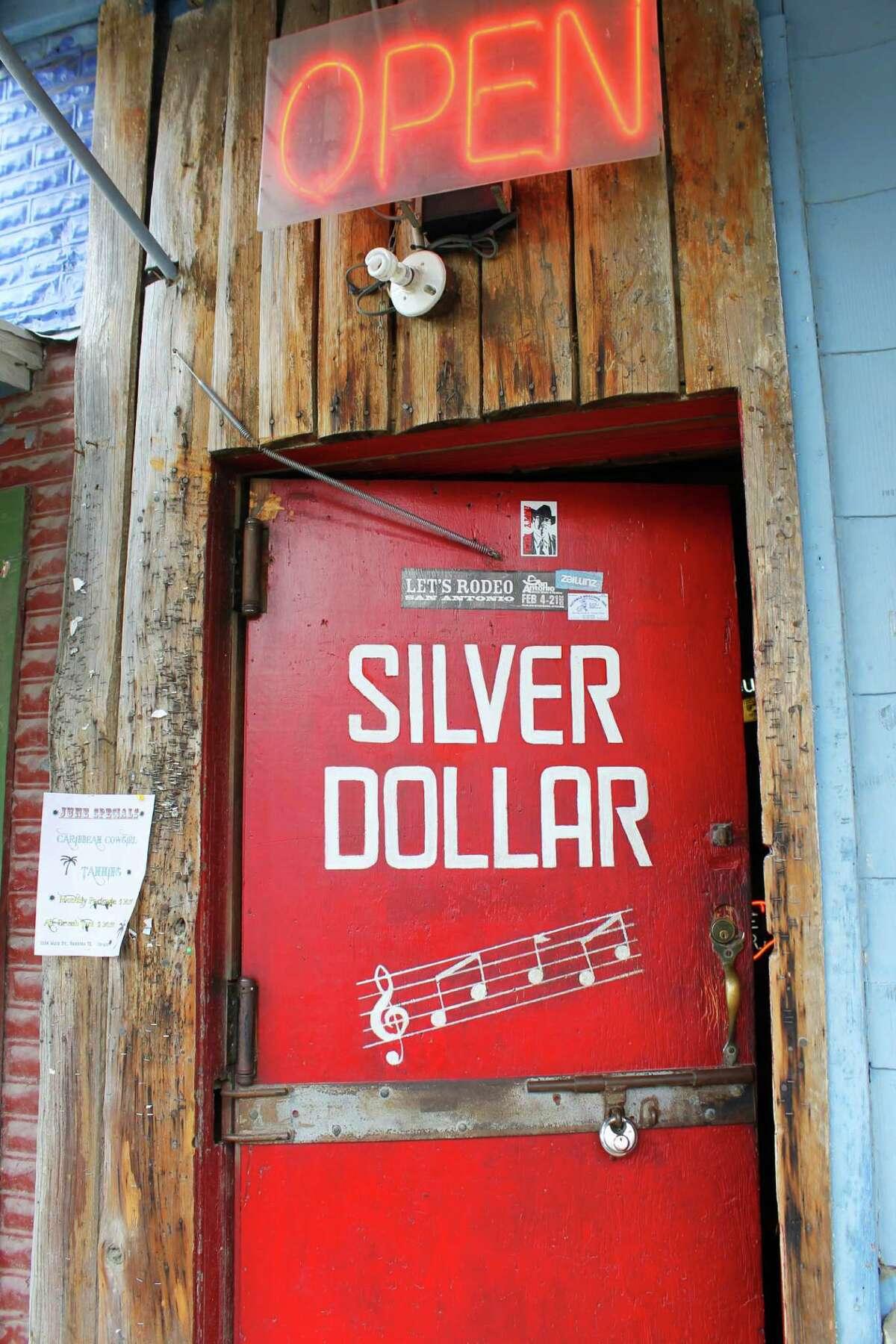Arkey Blue's Silver Dollar Saloon - 308 Main, Bandera