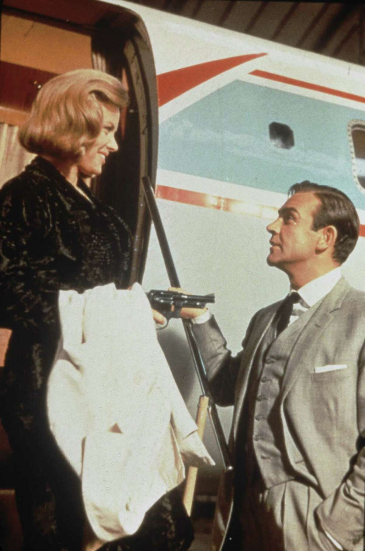 """Goldfinger indeed In today's dollars, 1964's """"Goldfinger"""" would have made more than $392 million, the most lucrative of the films."""