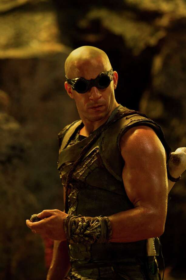 "VIN DIESEL reprises his role as the antihero Riddick--a dangerous, escaped convict wanted by every bounty hunter in the known galaxy--in ""Riddick"", the latest chapter of the groundbreaking saga that began with the hit sci-fi film ""Pitch Black"". Photo: Jan Thijs / Copyright: © 2013 Universal Studios. ALL RIGHTS RESERVED."