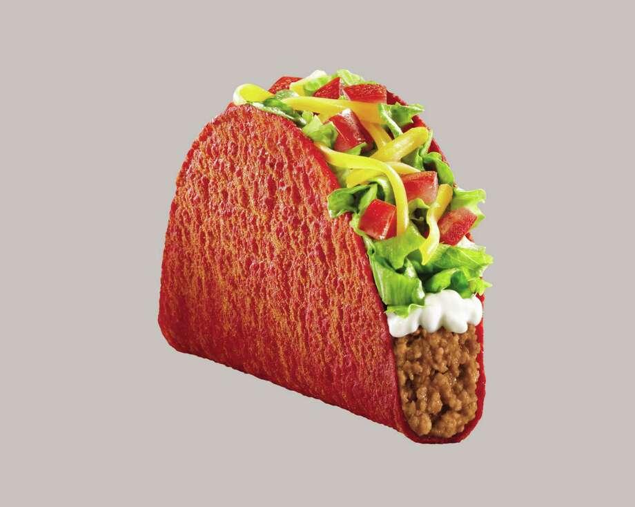 Fiery Doritos Locos Taco Supreme at Taco Bell