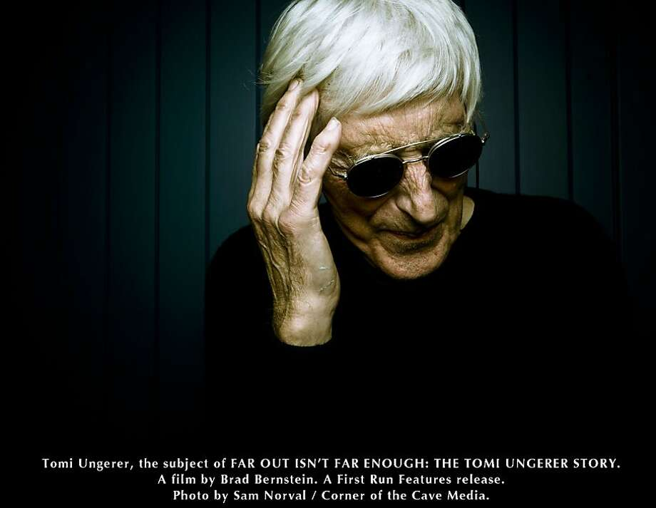 "Tomi Ungerer calls fear an inspiration in ""Far Out Isn't Far Enough: The Tomi Ungerer Story."" Photo: Sam Norval, First Run Features"