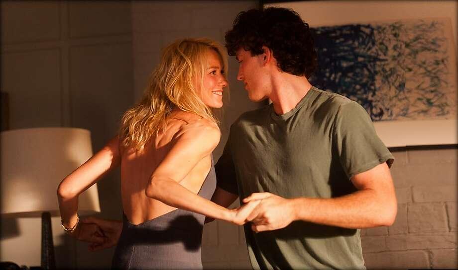 "Naomi Watts plays Lil, who has an affair with Tom (James Frecheville), her friend's son, in ""Adore."" Photo: Matt Nettheim, Exclusive Media"