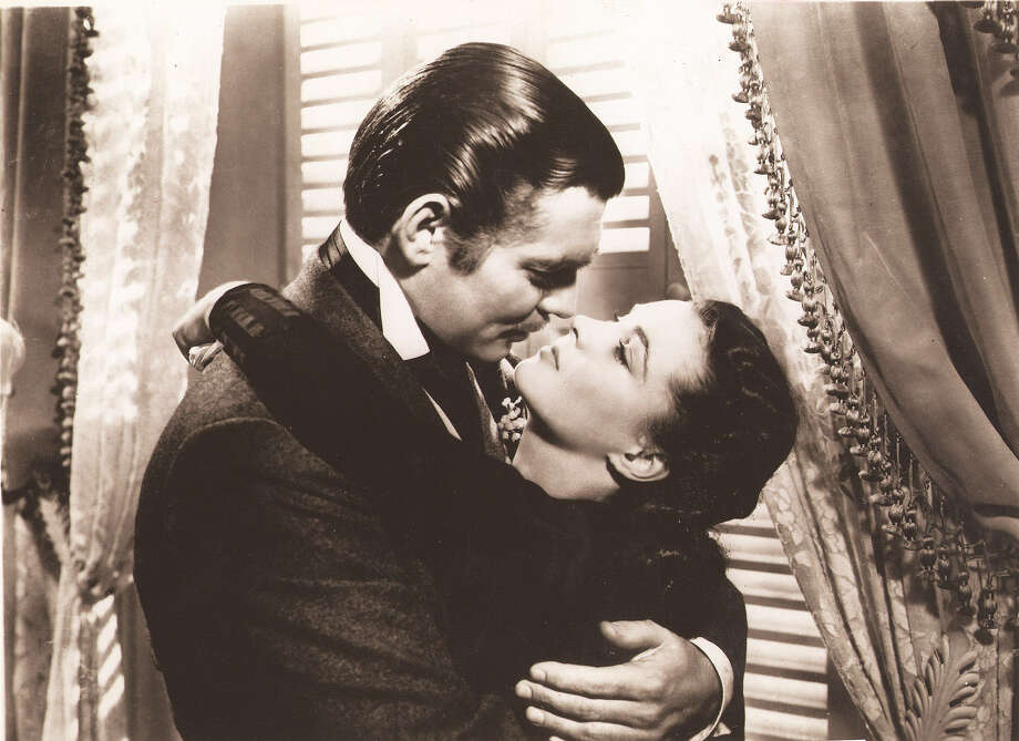 "Clark Gable (left) and Vivian Leigh star in the 1939 film ""Gone With the Wind."" Photo: Metro-Goldwyn-Mayer"