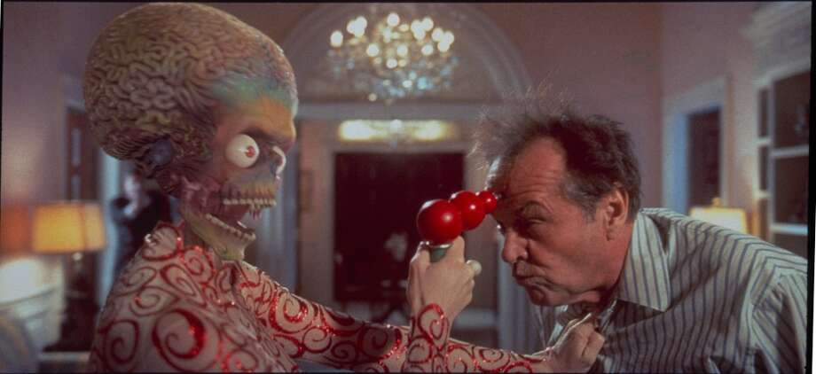 "Jack Nicholson in ""Mars Attacks!"""