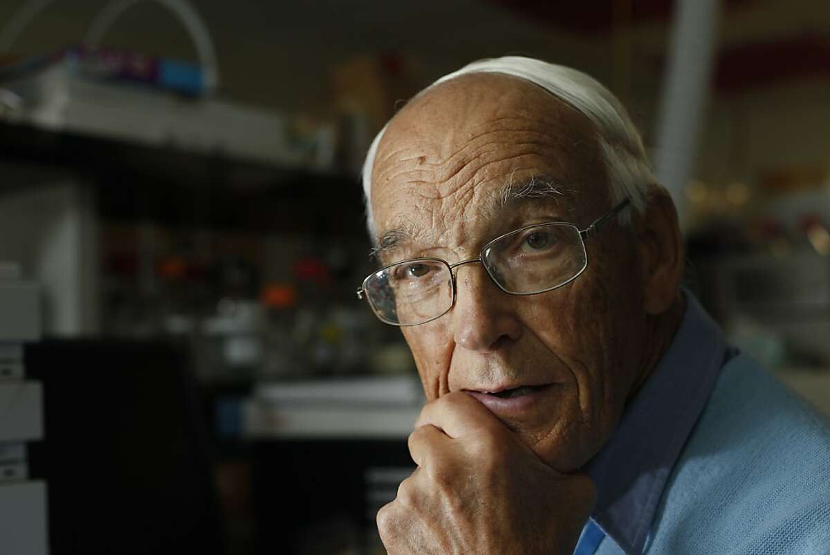 Scientist, Ron Buttery, 82, one of the United States Department of Agriculture, center's leading scientists was honored, Thursday August29, 2013, in Albany, Calif. Buttery was involved in developing the chemistry of flavor and in processing food in a sustainable manner.
