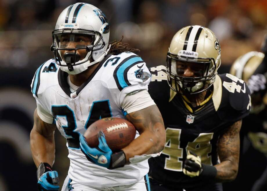 On containing RB DeAngelo Williams and Cam Newton:''It's all part of it because all of the opportunities are there. They have a normal running game and all of the cool things that a lot of teams do, and then they have a lot more. Like I said, it really comes down to the discipline of the play of the guys on game day. They've got to do things right and not give up the easy plays.  ''So often in the option game, when they do include that, a guy just comes out clean. A running back comes out clean or a quarterback comes out clean -- there's nobody (defending) because a guy has made a mistake. We just have to stick to the plan. We've worked really (hard) at it and hopefully we can function well. We don't have any idea until we get there, so we will have to wait and see.'' Photo: Chris Graythen, Getty Images
