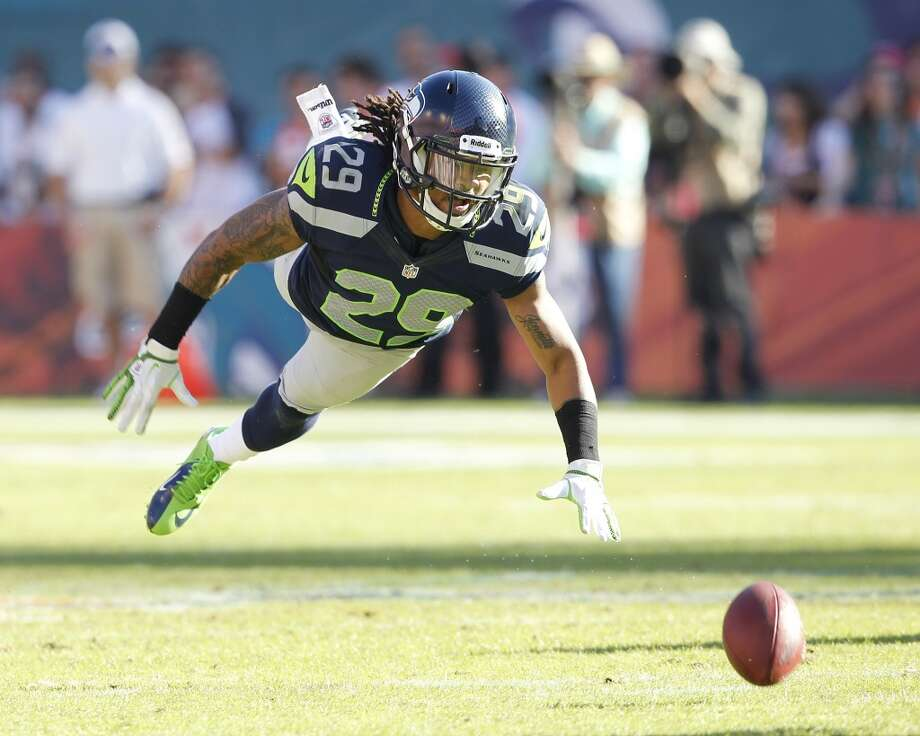 On whether that kind of camaraderie can be coached:  ''I think the leadership from Earl Thomas (pictured) and Richard Sherman -- really all four of those guys -- seeing the opportunity and recognize that they're together and we've kept them together and they want to do great things. It has just kind of naturally come together, and I give those guys the props on that. They really developed that themselves.'' Photo: Joel Auerbach, Getty Images