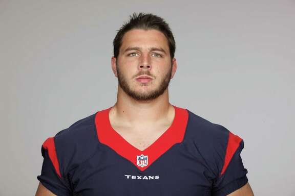 This is a 2013 photo of David Quessenberry of the Houston Texans NFL football team. This image reflects the Houston Texans active roster as of Thursday, June 20, 2013 when this image was taken. (AP Photo)