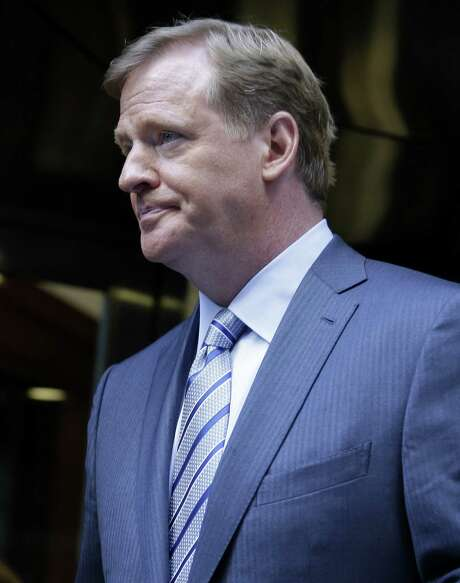 NFL commissioner Roger Goodell said criticism of the $765 million settlement with ex-players is off-base. Photo: Seth Wenig / Associated Press