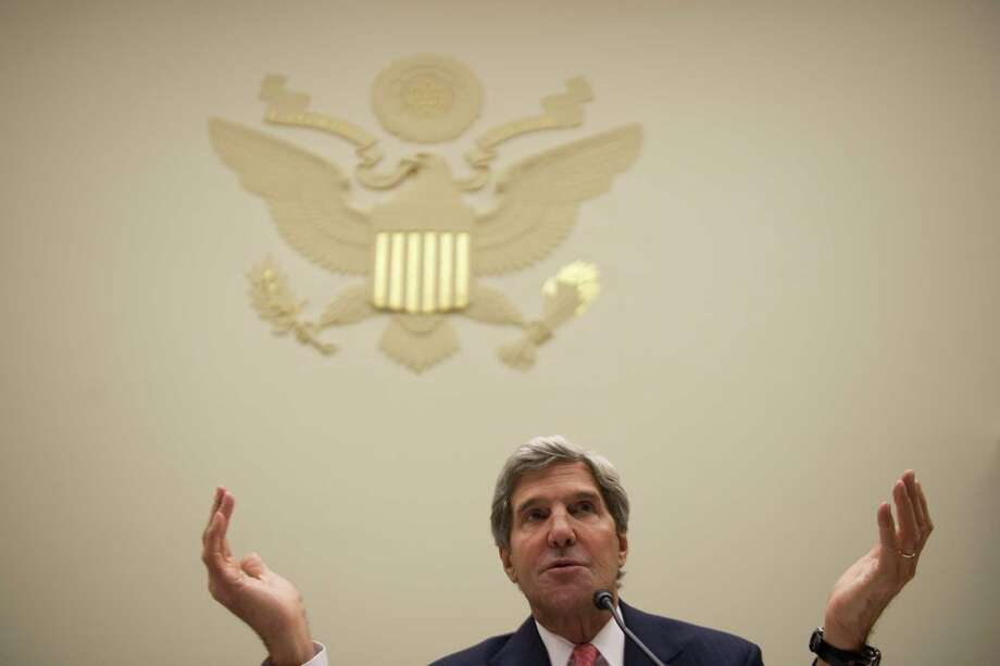 Secretary of State John Kerry said no more than 25 percent of Syria's anti-regime rebels were Islamic radicals, countering an estimate of up to 50 percent by Rep. Michael McCaul, R-Austin. Photo: Gabriella Demczuk / New York Times
