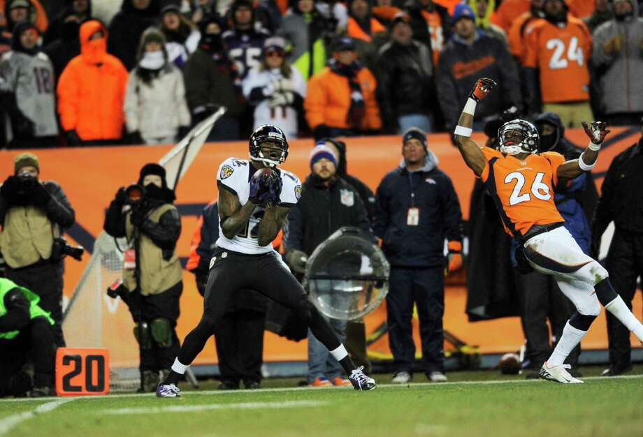 The Ravens and Broncos kick off the 2013 season Thursday night after Baltimore ended Denver's 2012 season, with Jacoby Jones' touchdown pass against Rahim Moore that forced overtime the most memorable play. Photo: Jack Dempsey, FRE / FR42408 AP