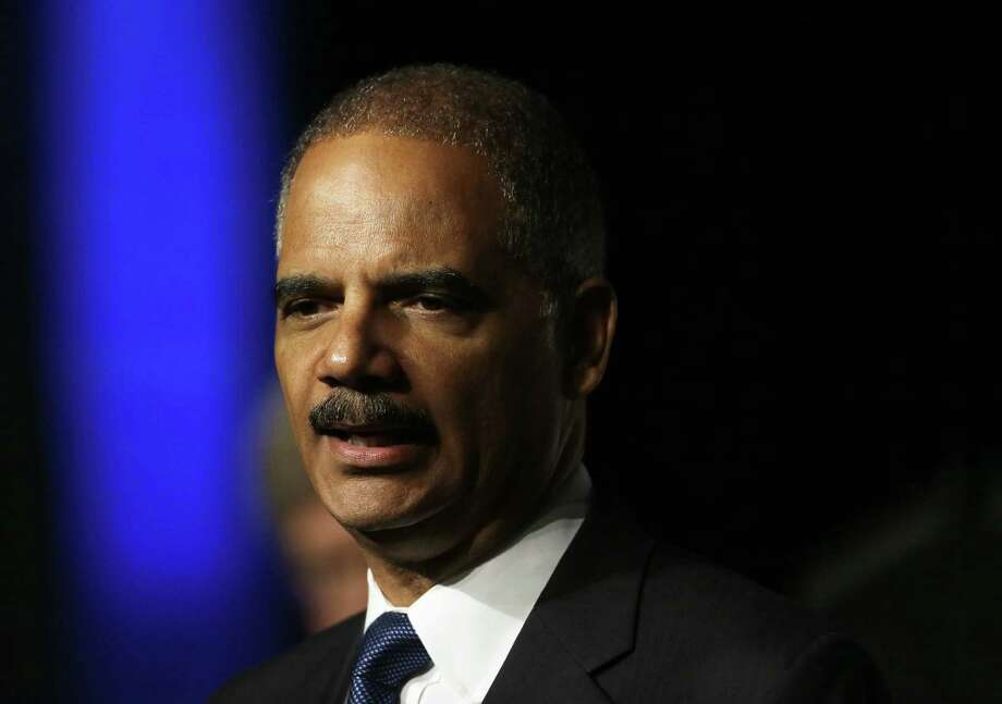 Attorney General Eric Holder pointed to a decision by the Supreme Court striking down part of the Defense of Marriage Act. Photo: Eric Risberg / Associated Press