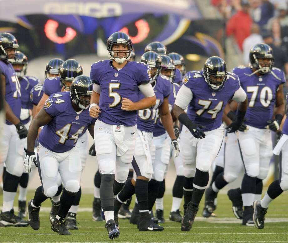 Wild CardBaltimore Ravens Photo: DOUG KAPUSTIN, McClatchy-Tribune News Service