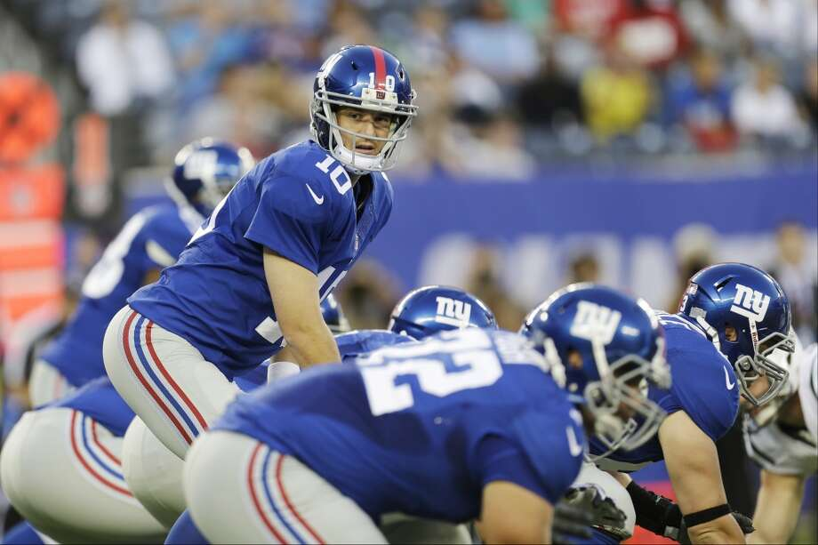 NFC East championsNew York Giants Photo: Julio Cortez, Associated Press