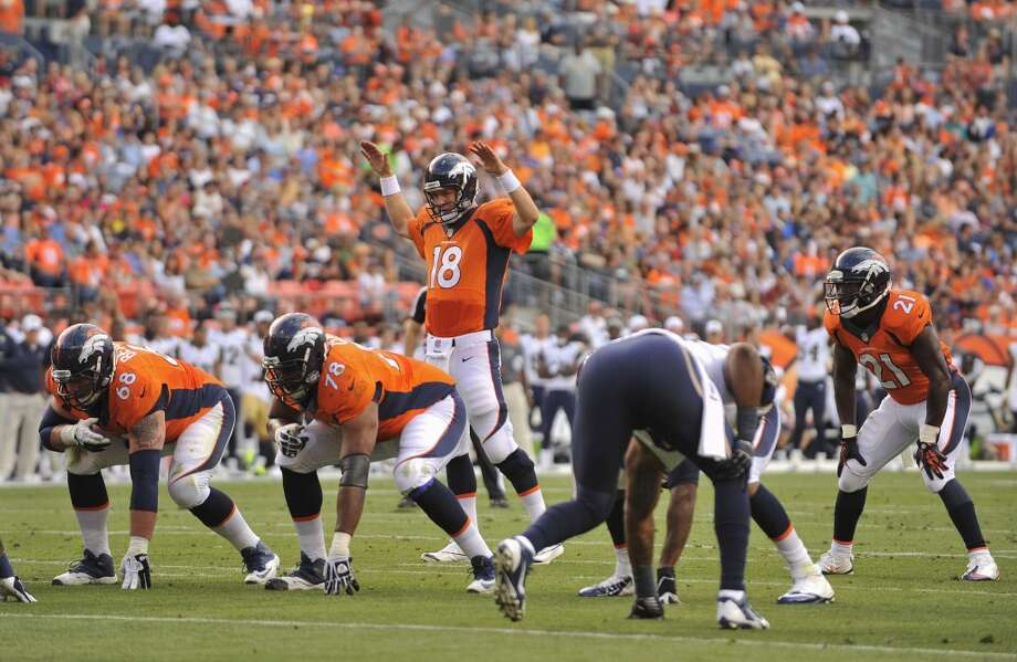Super Bowl championsDenver Broncos Photo: Jack Dempsey, Associated Press