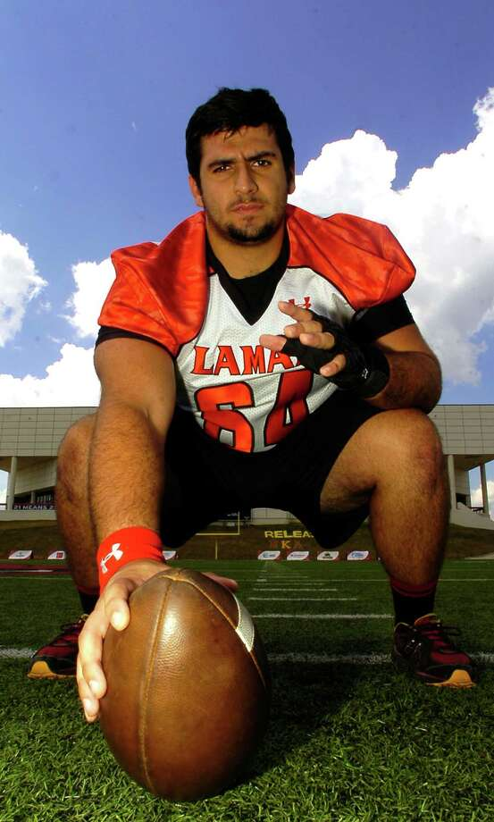 Lamar University senior offensive lineman Kyle Gillam has been on the team since football was brought back to Lamar. He can claim to have touched the ball more times then any other player in the past four years. Dave Ryan/The Enterprise Photo: Dave Ryan