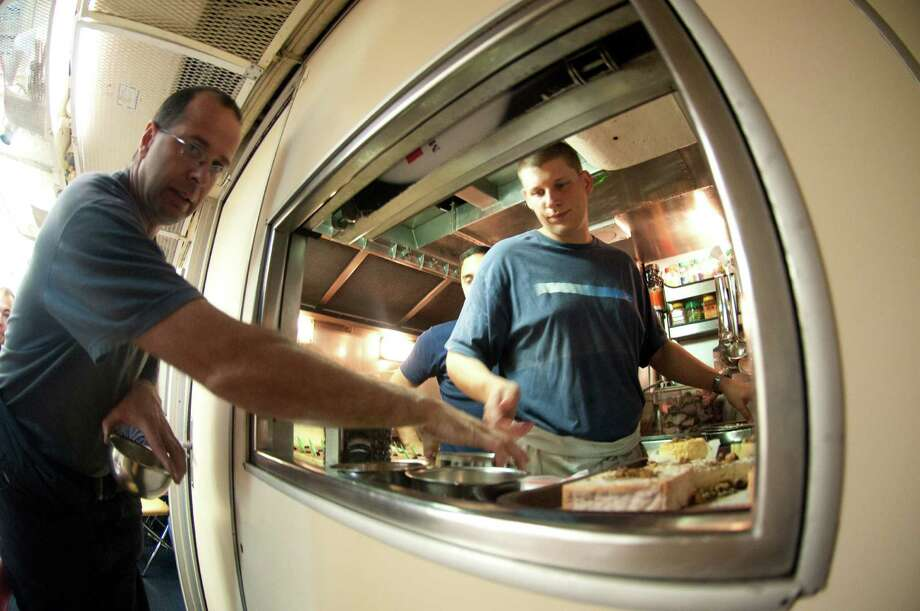 If you have experience working in the kitchen, you could earn $200,000 a year as a submarine cook.Source: PayScale Photo: MARTIN BUREAU, AFP/Getty Images / 2009 AFP