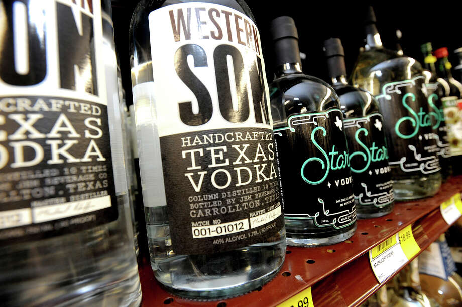 Western Son Handcrafted Texas Vodka is a newcomer to the distillery scene and was built in 2011.  Their signature vodka is gluten-free and column-distilled 10 times. Their Facebook page is updated with a variety of recipe ideas and mixes. Photo: Guiseppe Barranco, Guiseppe Barranco/The Enterprise / The Beaumont Enterprise