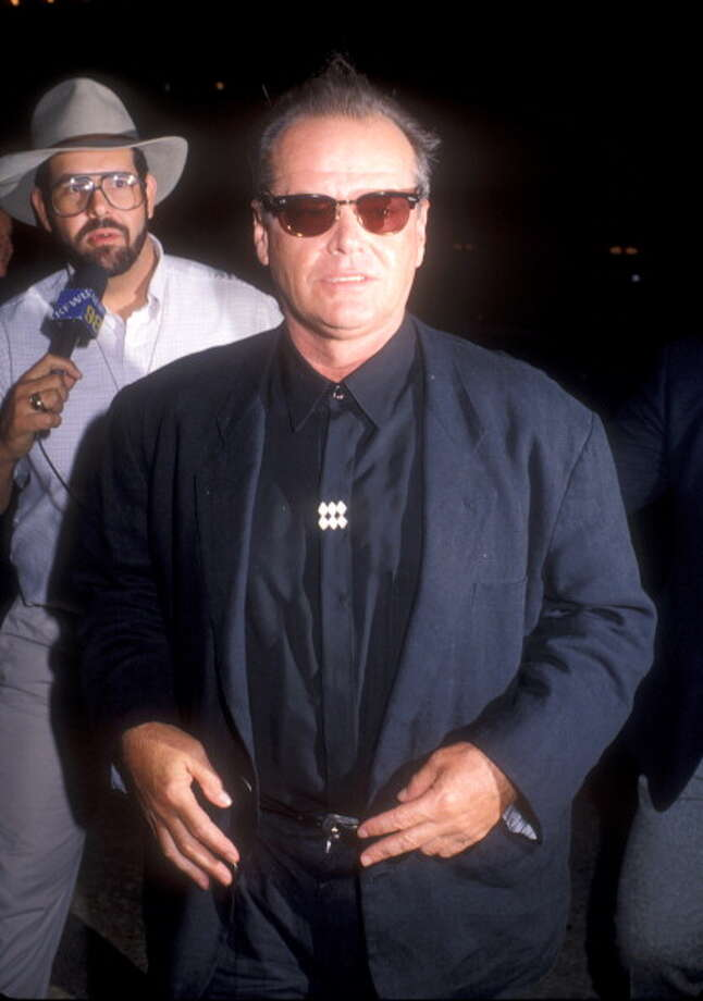 "Jack Nicholson during ""Batman"" Los Angeles Premiere at Mann Village theater in Westwood, California, United States. (Photo by Barry King/WireImage) Photo: Barry King, WireImage / 2003 WireImage.com"