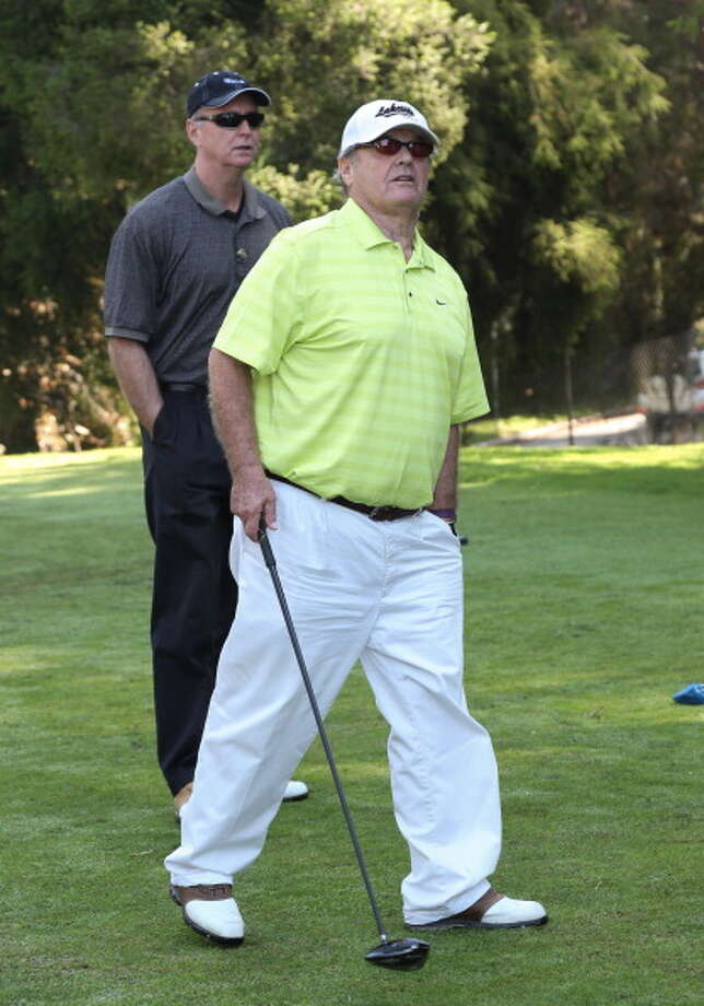 Actor Jack Nicholson attends the Los Angeles Police Celebrity Golf Tournament at Rancho Park Golf Course on October 13, 2012 in West Los Angeles, California.  (Photo by Paul Archuleta/FilmMagic) Photo: Paul Archuleta, FilmMagic / 2012 Paul Archuleta