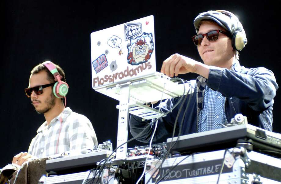 Flosstradamus:Saturday, May 31 at 4:50 p.m.Saturn Stage Chicago DJ duo of Curt