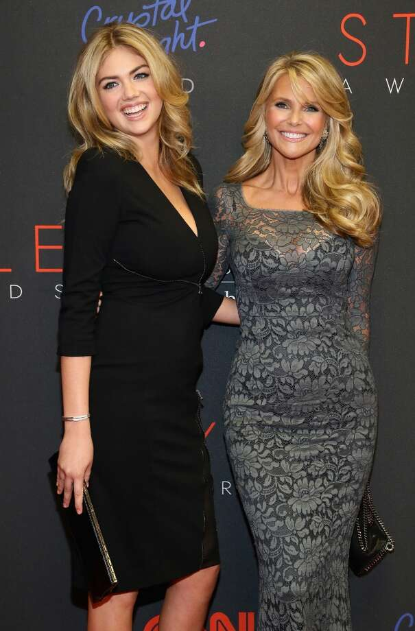 Models Kate Upton and Christie Brinkley attend the 10th annual Style Awards during Mercedes Benz Fashion Week Spring 2014 at Lincoln Center on September 4, 2013 in New York City.  (Photo by Astrid Stawiarz/Getty Images for Mercedes-Benz Fashion Week) Photo: Astrid Stawiarz