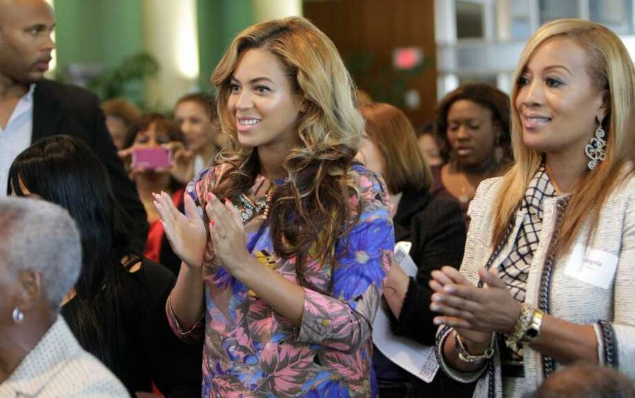 Beyonce Knowles went to the High School for Performing and Visual Arts. Photo: MELISSA PHILLIP/CHRONICLE