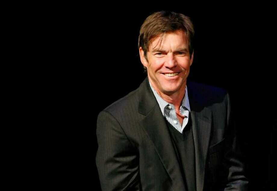 Actor Dennis Quaid went to Bellaire High School. Photo: GETTY