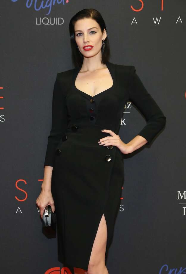 Actress Jessica Pare attends the 10th annual Style Awards during Mercedes Benz Fashion Week Spring 2014 at Lincoln Center on September 4, 2013 in New York City.  (Photo by Astrid Stawiarz/Getty Images for Mercedes-Benz Fashion Week) Photo: Astrid Stawiarz