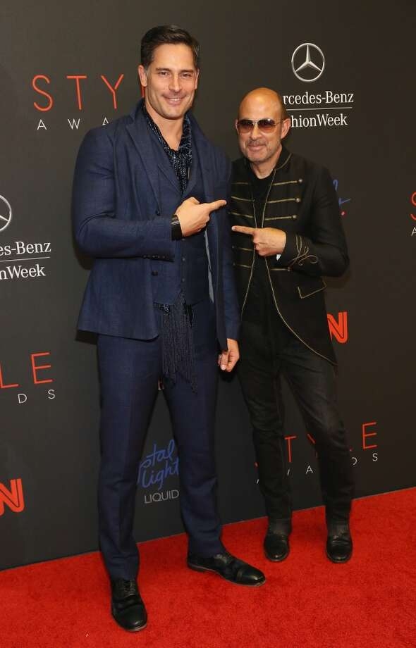 Actor Joe Manganiello (L) and Deisgner John Varvatos attend the 10th annual Style Awards during Mercedes Benz Fashion Week Spring 2014 at Lincoln Center on September 4, 2013 in New York City.  (Photo by Astrid Stawiarz/Getty Images for Mercedes-Benz Fashion Week) Photo: Astrid Stawiarz