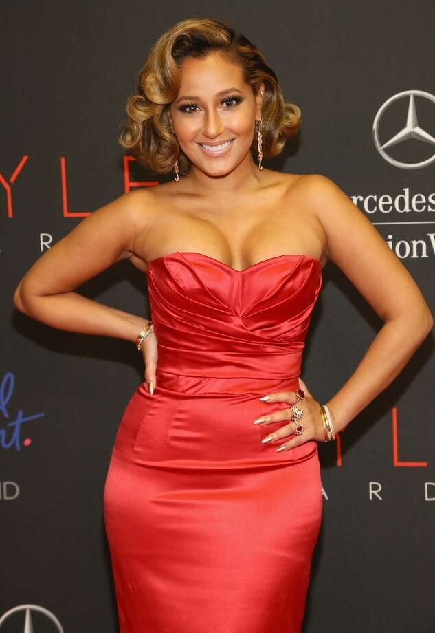 Adrienne Bailon attends the 10th annual Style Awards during Mercedes Benz Fashion Week Spring 2014 at Lincoln Center on September 4, 2013 in New York City.  (Photo by Astrid Stawiarz/Getty Images for Mercedes-Benz Fashion Week) Photo: Astrid Stawiarz