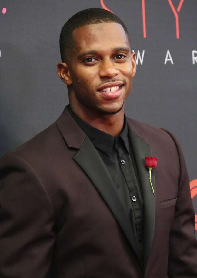Professional football player Victor Cruz attends the 10th annual Style Awards during Mercedes Benz Fashion Week Spring 2014 at Lincoln Center on September 4, 2013 in New York City.  (Photo by Astrid Stawiarz/Getty Images for Mercedes-Benz Fashion Week) Photo: Astrid Stawiarz