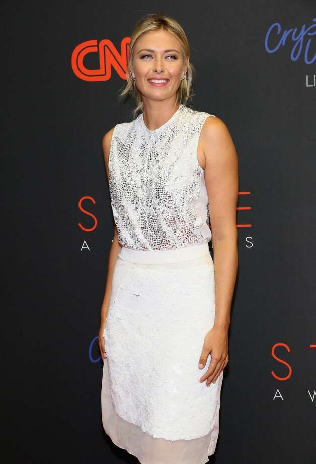 Professional Tennis Player Maria Sharapova attends the 10th annual Style Awards during Mercedes Benz Fashion Week Spring 2014 at Lincoln Center on September 4, 2013 in New York City.  (Photo by Astrid Stawiarz/Getty Images for Mercedes-Benz Fashion Week) Photo: Astrid Stawiarz