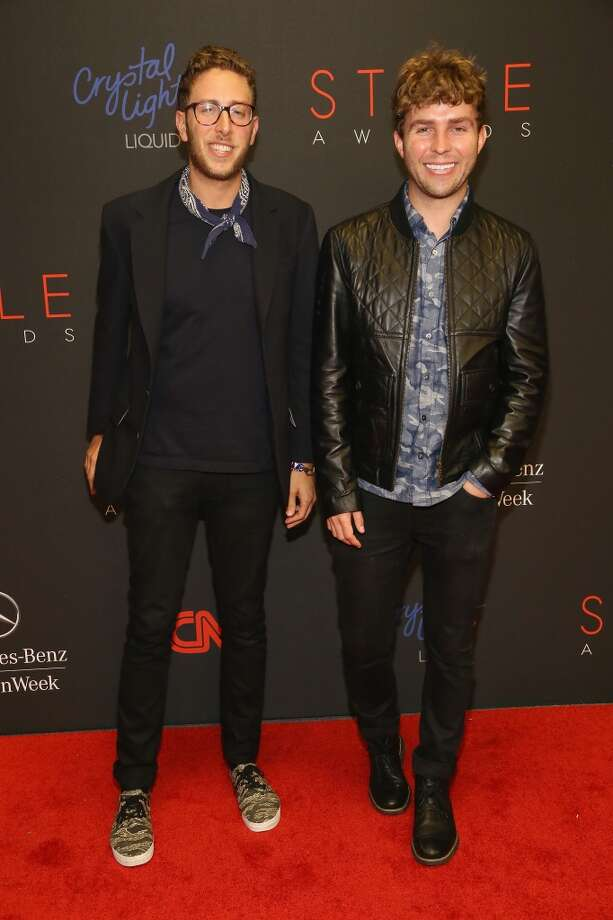 Alan Eckstein (L) and Timo Weiland attend the 10th annual Style Awards during Mercedes Benz Fashion Week Spring 2014 at Lincoln Center on September 4, 2013 in New York City.  (Photo by Astrid Stawiarz/Getty Images for Mercedes-Benz Fashion Week) Photo: Astrid Stawiarz