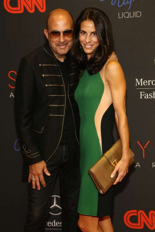 Designer John Varvatos (L) and Joyce Zybelberg Varvatos attend the 10th annual Style Awards during Mercedes Benz Fashion Week Spring 2014 at Lincoln Center on September 4, 2013 in New York City.  (Photo by Astrid Stawiarz/Getty Images for Mercedes-Benz Fashion Week) Photo: Astrid Stawiarz