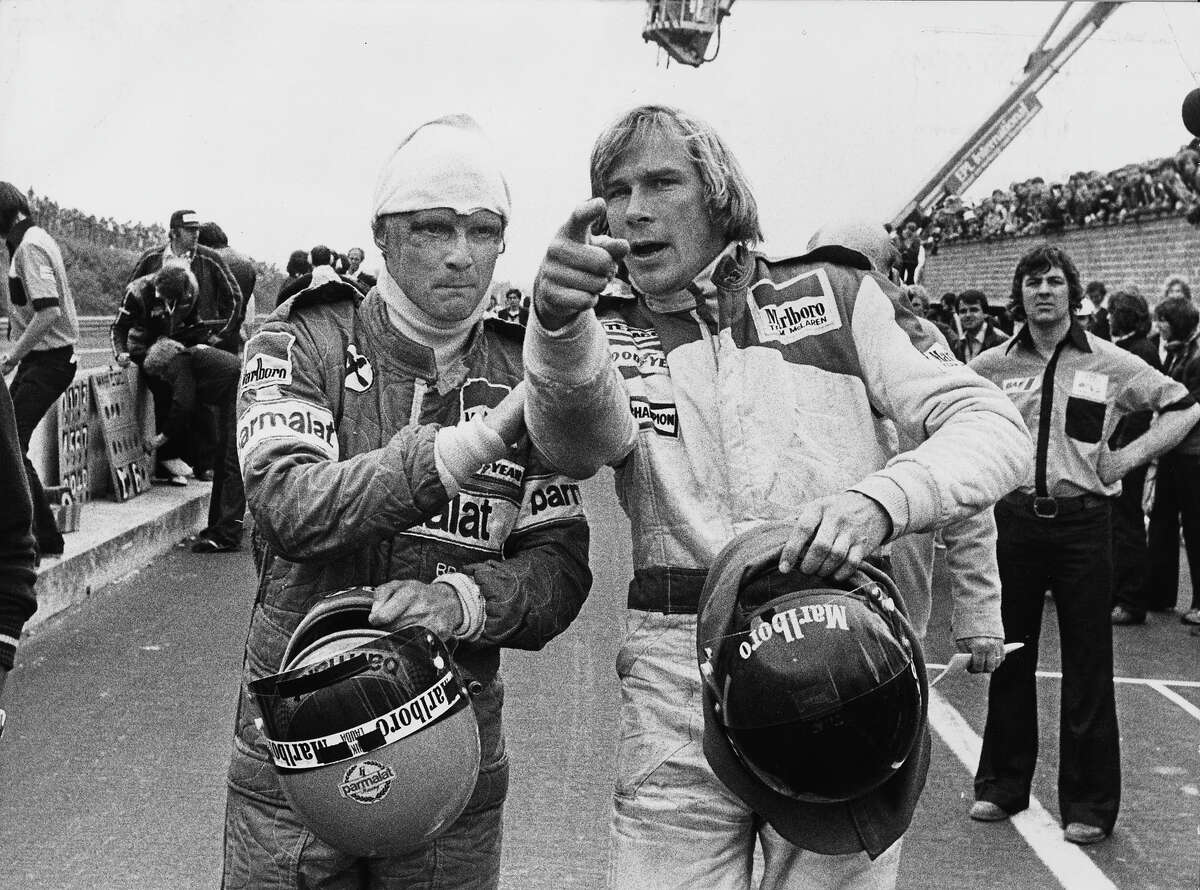 'Rush,' the highly anticipated Formula One drama by Ron Howard focuses on two drivers, Englishman James Hunt and Austrian Niki Lauda and their intense rivalry in the 1976 season. We dig into the archives for a look at the rivals.