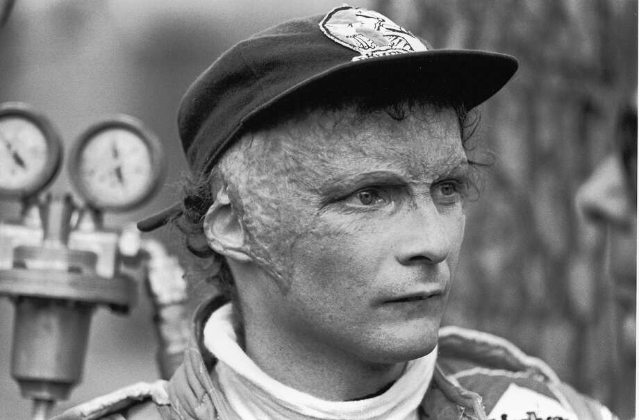 Lauda was badly burned in a crash during the 1976 season but returned to race shortly afterwards. Photo: Robert Riger, Getty Images / 2006 Getty Images