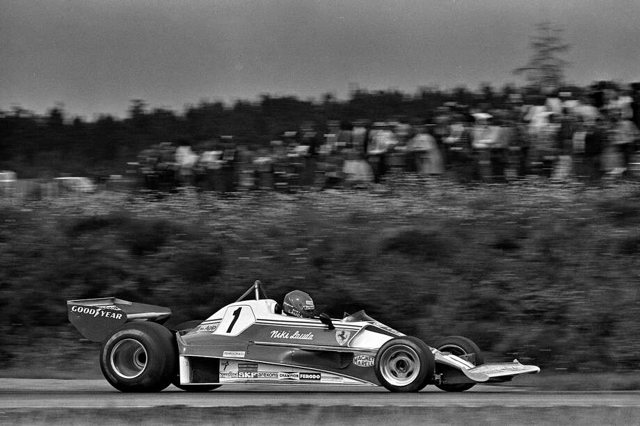 Niki Lauda of Austria drives his Ferrari 312T2 026/Ferrari 015 during the Grand Prix of Sweden FIA Formula 1 race at Scandinavian Raceway near Anderstorp, Sweden, on June 13, 1976. Photo: Bob Harmeyer, Getty Images / 1976 Bob Harmeyer