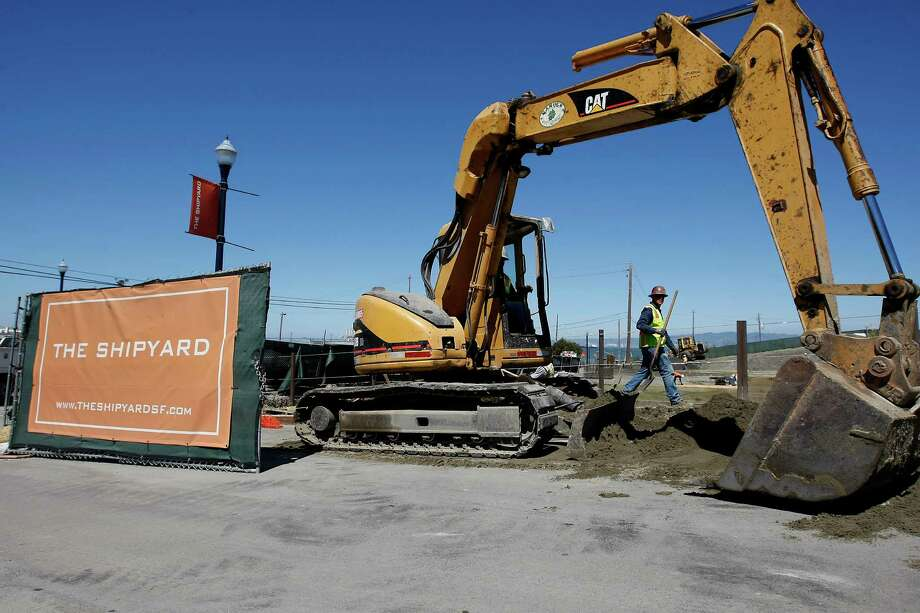 The Hunters Point Shipyard project breaks ground last year. The homes are ready for residents. Photo: Michael Short / Special To The Chronicle / ONLINE_YES
