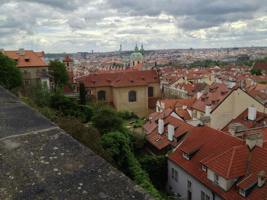 Looking out across Prague from street next to Prague Castle. (Bill Federman)