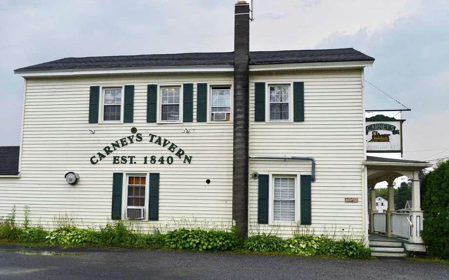 Carney's Tavern. 17 Main St., Ballston Lake.Carney's Tavern Saturday Aug. 31, 2013, in Ballston Lake, NY.  (John Carl D'Annibale / Times Union) Photo: John Carl D'Annibale / 00023707A