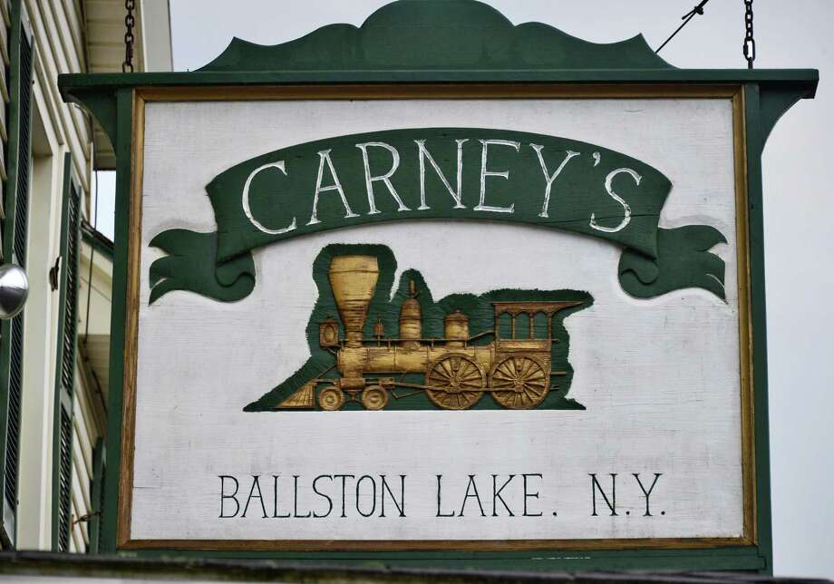 Carney's Tavern. 17 Main St., Ballston Lake.Sign over the front entrance of Carney's Tavern Saturday Aug. 31, 2013, in Ballston Lake, NY.  (John Carl D'Annibale / Times Union) Photo: John Carl D'Annibale / 00023707A