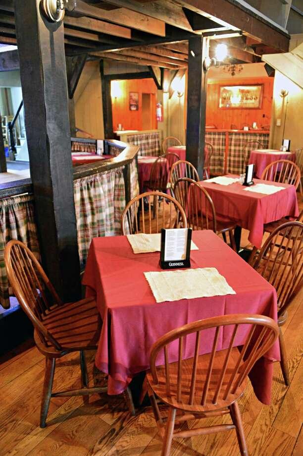 Carney's Tavern. 17 Main St., Ballston Lake.Interior of Carney's Tavern Saturday Aug. 31, 2013, in Ballston Lake, NY.  (John Carl D'Annibale / Times Union) Photo: John Carl D'Annibale / 00023707A