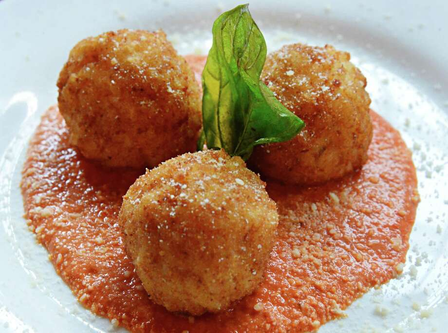 Carney's Tavern. 17 Main St., Ballston Lake.Arancini appetizer at Carney's Tavern Saturday Aug. 31, 2013, in Ballston Lake, NY.  (John Carl D'Annibale / Times Union) Photo: John Carl D'Annibale / 00023707A