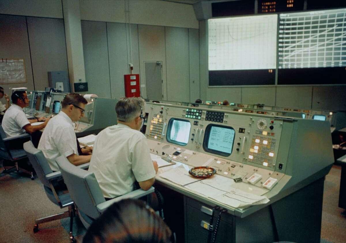 NASA's Mission Control at Johnson Space Center Gemini-era to present day.