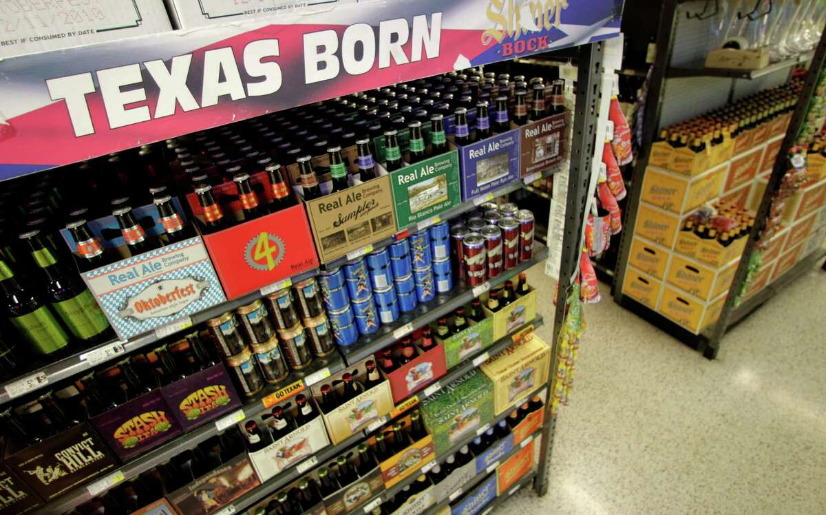 Liquors made right here in Texas ...