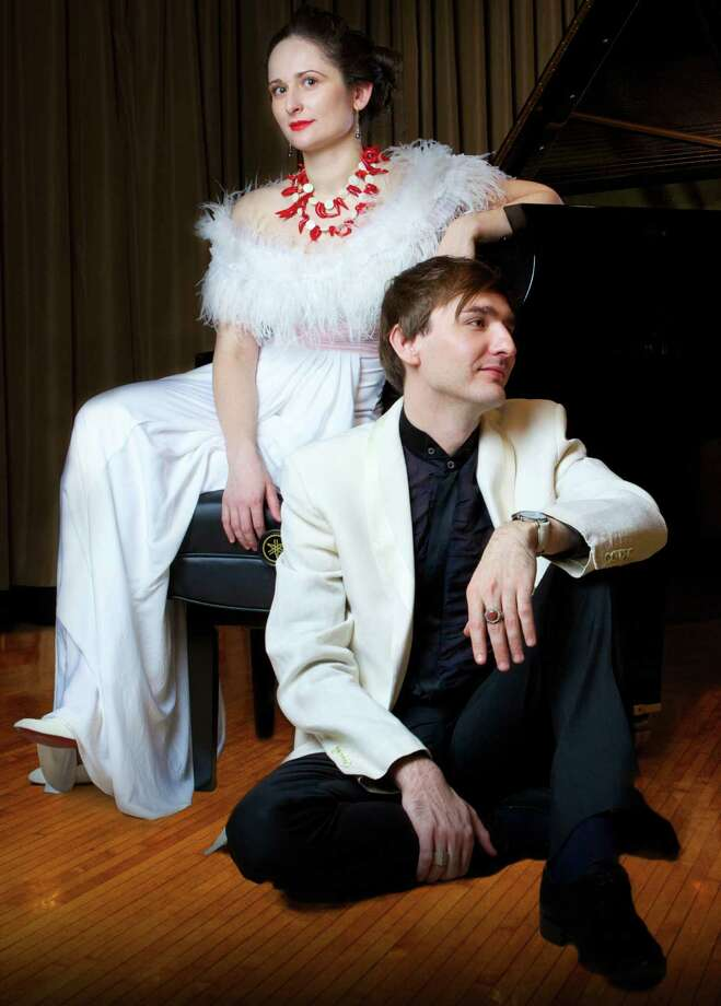 The piano duo of Vassily Primakov and Natalia Lavrova will open the Music for Youth concert series for children at the Pequot LIbrary Sept. 14. Photo: Contributed Photo / Fairfield Citizen